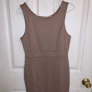 Nude Forever 21 dress